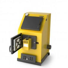 Универсальный котел Оптимус Газ Электро 20 кВт АРТ, ТЭН 6 кВт  желтый TMF (TMF)