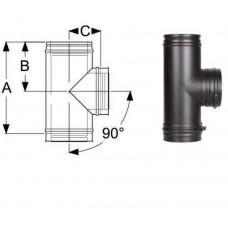 Тройник 90°  Schiedel Permeter 25 - Ø 130 мм