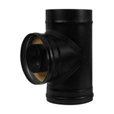 Сэндвич-тройник BLACK (AISI 430/0,8мм) Везувий