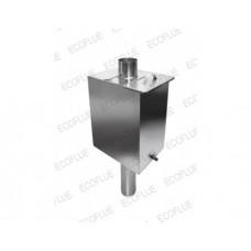 Бак на трубу (бак на трубе) 55 литров (нерж. 1 мм.)  Ø120 мм.