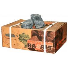Вулканический базальт (вулканит) (20 кг.) камни для бани и сауны.