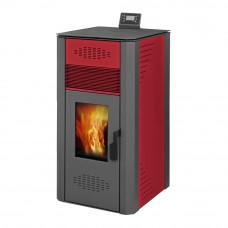 Печь – камин Blist OPTIMA B LUX (красный) Ермак