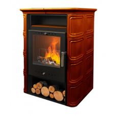 Печь-камин NordFlam VERA BROWN 6 кВт (коричневая)