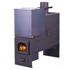 Печь для бани № 02 с баком для нагрева воды. До 20м3