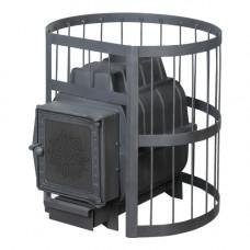 Банная печь ПароВар 22 сетка-прут (К211) без выноса (FireWay)