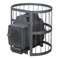 Печь банная ПароВар 22 сетка-прут (211) без выноса (FireWay)