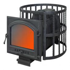 Печь банная ПароВар 22 сетка-ковка (505) (FireWay)