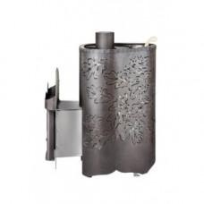 Печь Малютка  Дуб Ферингер для бани в кожухе