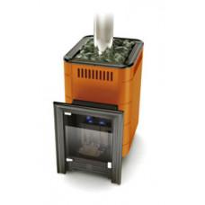 Газовая банная печь-каменка Уренгой – 2 Inox БСЭ терракота TMF