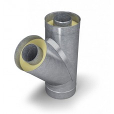Тройник - сэндвич 135° диаметр 150/250 мм 0,5 мм нерж/оц TMF