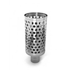 Каменка натрубная Дизель диаметр 115 мм нерж/нерж TMF