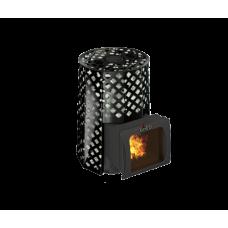 Печь для бани Grill'D Violet Romb Short Window Max
