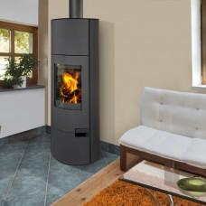 Печь – камин LUGO металл с теплообменником Romotop