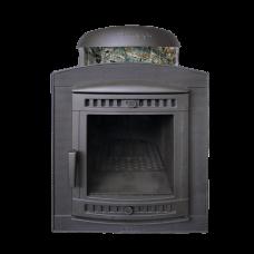 Печь банная Атмосфера в ламелях Жадеит перенесенный рисунок до 22 м ПроМеталл