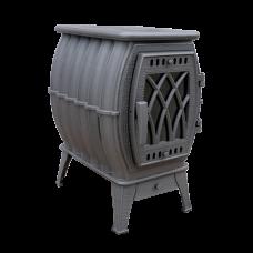 Печь-камин «Бахта» металлик ПроМеталл