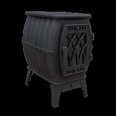 Печь-камин «Бахта» черный ПроМеталл