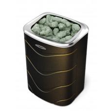 Электрокаменка для бани и сауны Примавольта 9 кВт черная бронза TMF