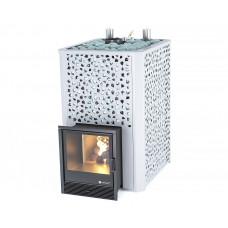 Печь для коммерческих бань и саун «Ялта 55К» березовый лист ИзиСтим