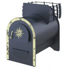 Банная печь-каменка «Любаня»  для бани и сауны Царь-печи