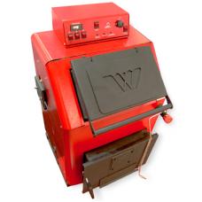 Котел стальной на твердом топливе электрический Wirbel EKO EL 80/24