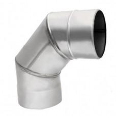 Отвод дымохода (45 градусов, 90 градусов)