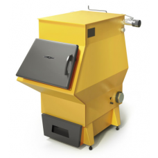 Твердотопливный котел Ташкент 2017 Автоматик 12 кВт АРТ под ТЭН  желтый TMF (TMF)