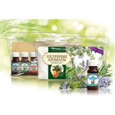 Натуральное эфирное масло №3 набор Целебные ароматы (7шт х 10мл.)