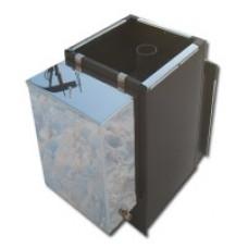 Печь банная Быстрица-24 в комплекте с навесным баком 60 литров ТеплоСталь