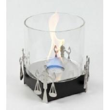 Биокамин Lux Fire Весы черный