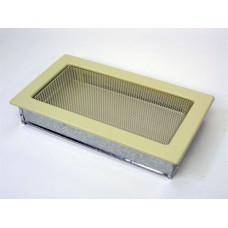 Решетка вентиляционная каминная 17х30, кремовый (В)