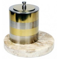 Биокамин Биотепло Биосвеча «Серебро» на мраморном основании 10