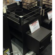 Печь для бани Жара-малютка 400 У с топочным коробом 200мм