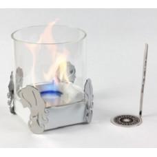 Биокамин Lux Fire Дева белый