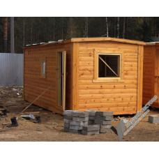 Перевозная мобильная баня 2,3х6 м