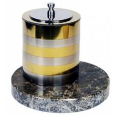Биокамин Биотепло Биосвеча «Серебро» на мраморном основании 8