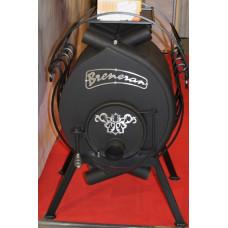 Печь Бренеран АОТ-06 тип 00 до 100м3 без стекла отопительная для дачи и дома