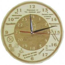 Часы Ух, сколько дел Чр-Д
