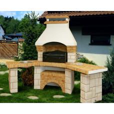 "Уличный камин барбекю Barbecue ""Гранд Угловой"""