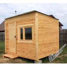 Перевозная мобильная баня 2,3х3 м