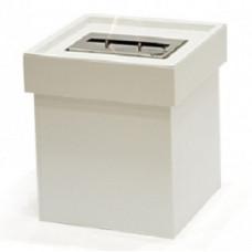 Биокамин Биотепло Flam Box маленький белый