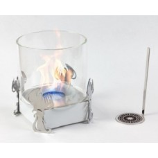 Биокамин Lux Fire Водолей белый
