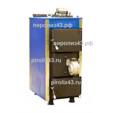 Котел твердотопливный газогенераторный Пиролиз 43 Кп-40