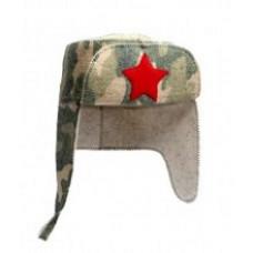 """Шляпа """"Ушанка-Камуфляж (Е) Б41901"""