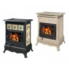 Пеллетная печь-камин Castelmonte (Кастельмонте) Isabella Camino Hidro для дома и дачи