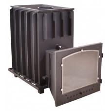 Топочный агрегат Калита чугунная, с панорамным стеклом