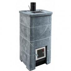 """Печь для бани по - черному и белому """"Smoky Steam """" с системой """"Пар с Дымом"""" Теплый камень"""