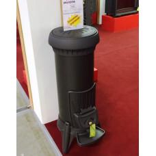 Печь-камин Invicta (Инвикта) Sorel антрацит  для дома и дачи