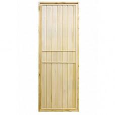Дверь для бани и сауны глухая
