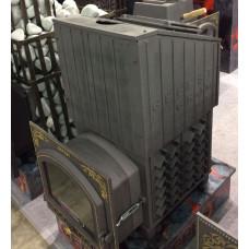 Чугунная печь для бани Гефест Ураган ЗК (ПБ-03ПС-ЗК Ураган)