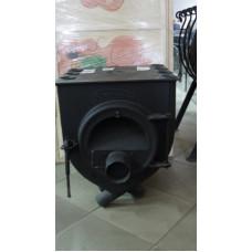 Печь Аот-6 тип 00  Бренеран с плитой со стеклом отопительная для дачи и дома